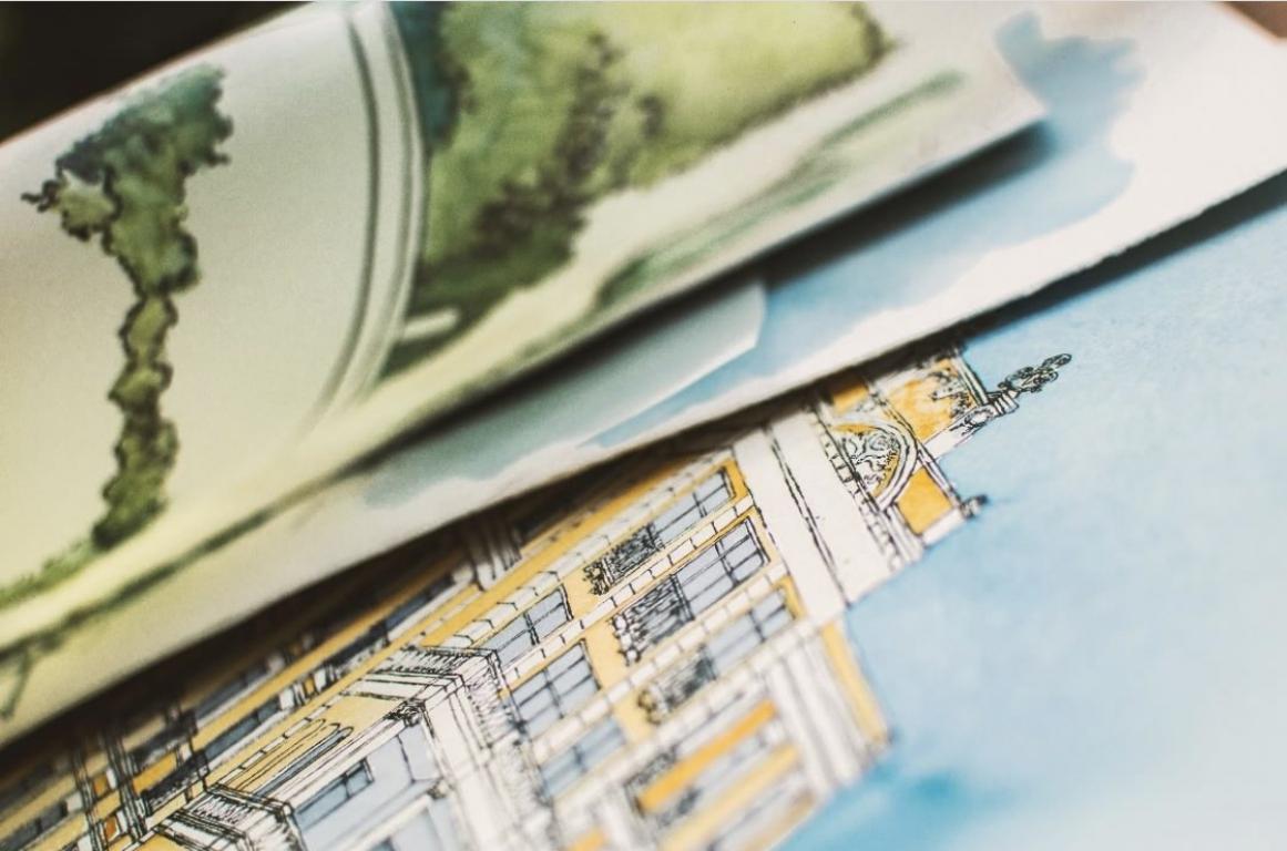 Dessins et illustrations pour architectes - Sylvie T