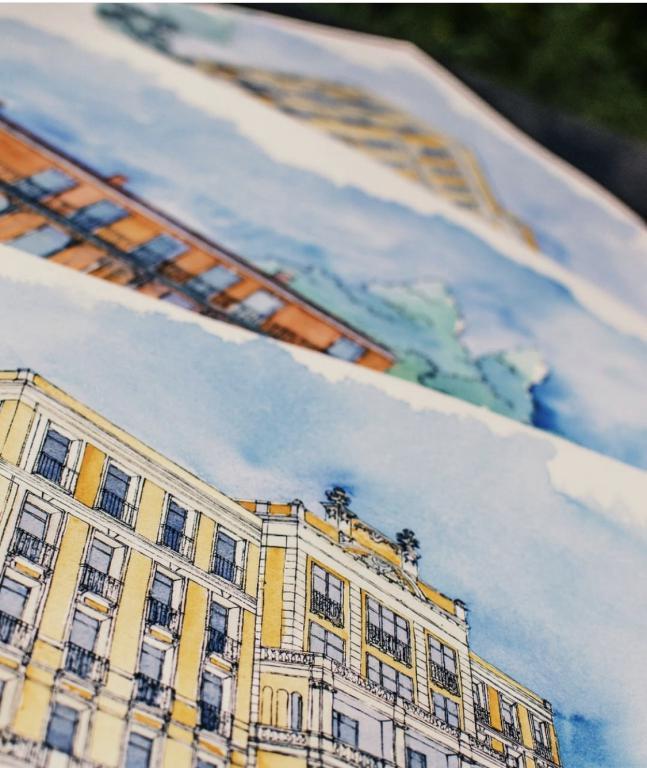 Dessins cabinets d'architectes - Nice - Sylvie T atelier
